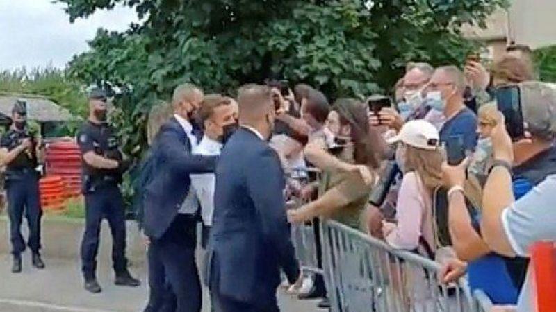 Emmanuel Macron'a tokat atan kişi HEMA ustası çıktı!