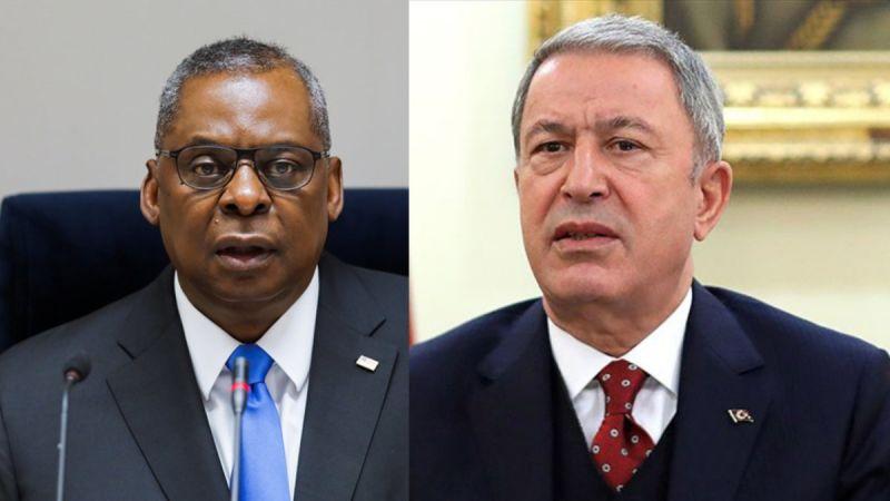Milli Savunma Bakanı Akar ve ABD Savunma Bakanı Austin telefonla görüştü