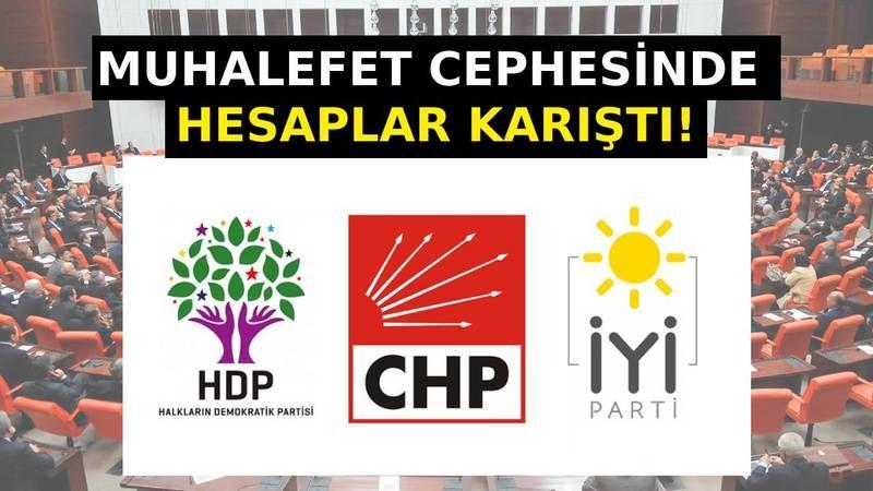 Muhalefet cephesinde hesaplar karıştı! Meral Akşener'in HDP çıkmazı