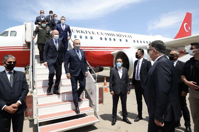 Türkiye'nin üst düzey yetkilileri Libya'da