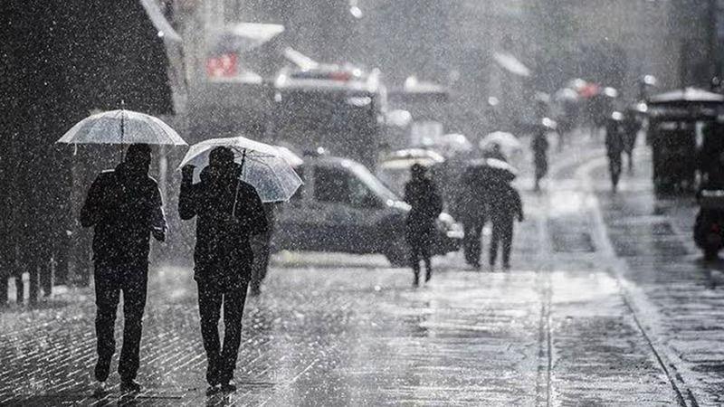 Meteoroloji'den İstanbul, Ankara ve İzmir için sağanak yağış uyarısı