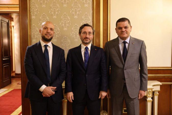 İletişim Başkanı Altun, Libya ziyaretini değerlendirdi
