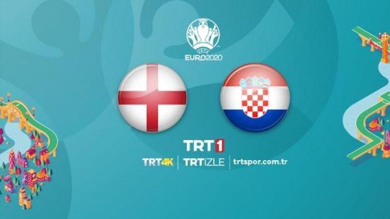 İngiltere ile Hırvatistan karşı karşıya geliyor! İşte İlk 11'ler...