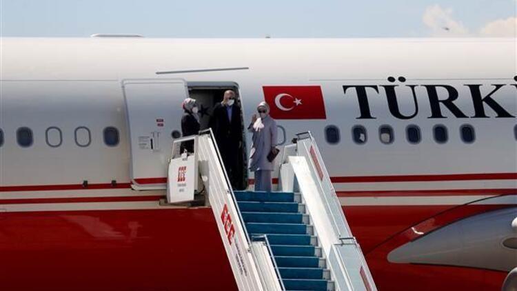 Cumhurbaşkanı Recep Tayyip Erdoğan kritik NATO Zirvesi için Brüksel'e geldi