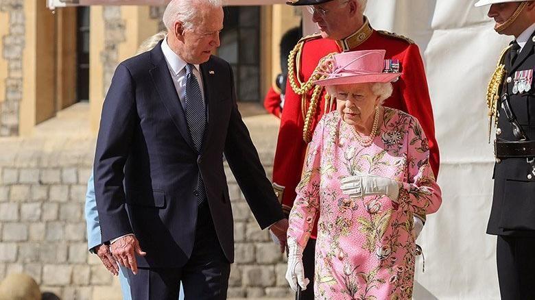 Joe Biden: Kraliçe 2. Elizabeth bana annemi hatırlattı