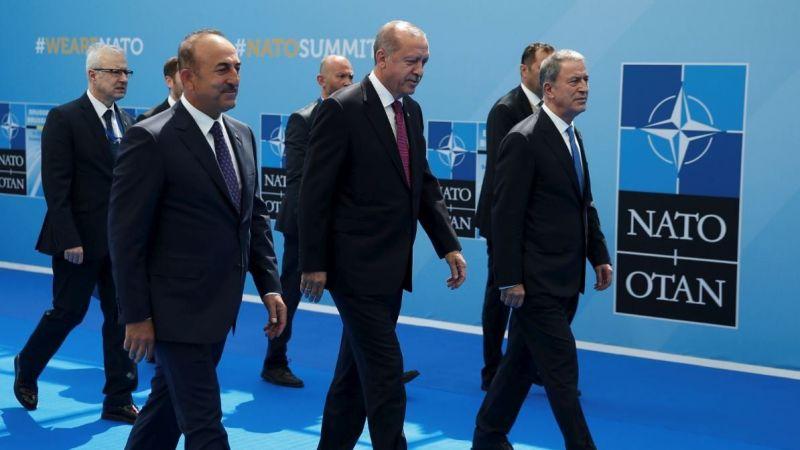 Erdoğan NATO karargahında