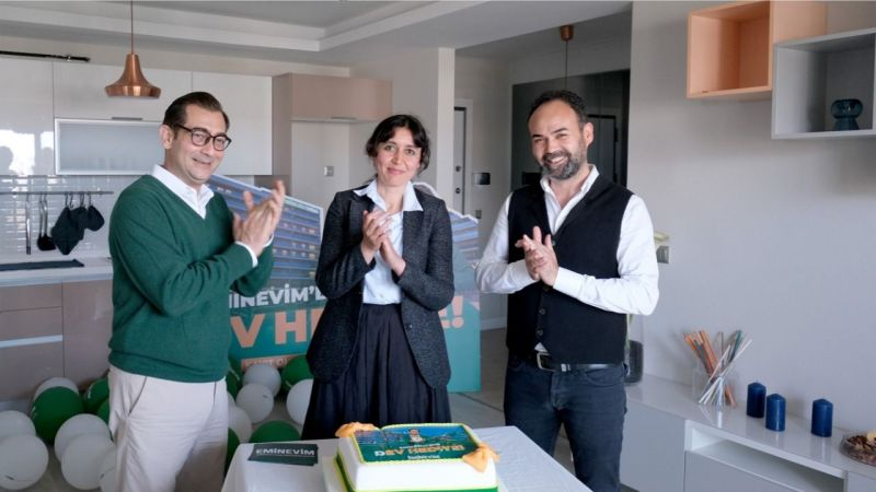 Ev Ödüllü Büyük Kampanyanın Talihlisi Hediyesine Kavuştu