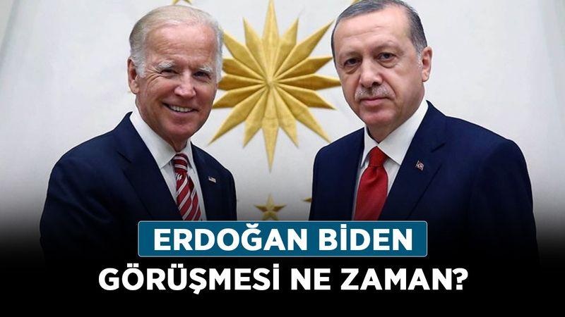 Erdoğan Biden görüşmesi ne zaman? Erdoğan Biden kritik görüşmesi saat kaçta?