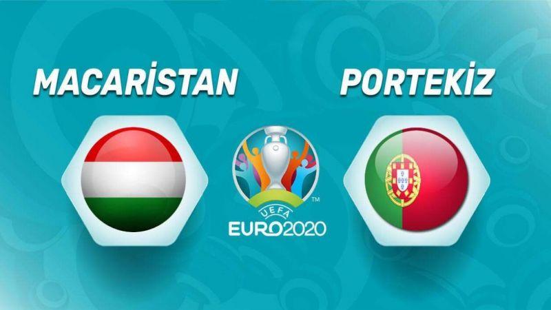 Macaristan Portekiz maçı TRT 1 canlı izle! Macaristan Portekiz EURO 2020 canlı full hd izle!