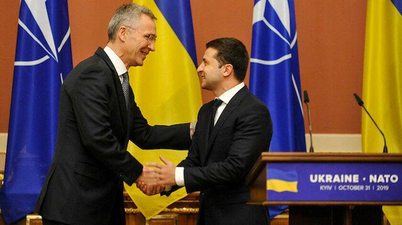 NATO Ukrayna'yı üye olarak kabul etti