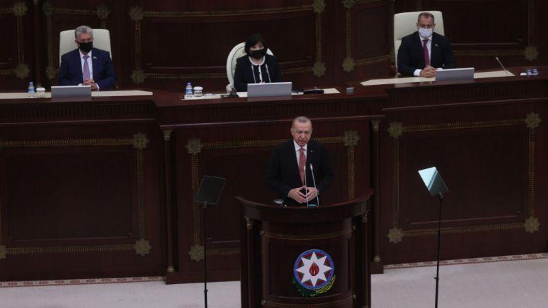 Cumhurbaşkanı Erdoğan: Türk milletine iftiralarla çamur atanlar Hocalı'ya bakmalı!
