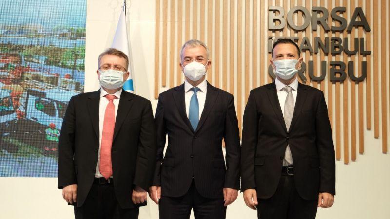 Borsa İstanbul'da gong Boğaziçi Beton için çaldı