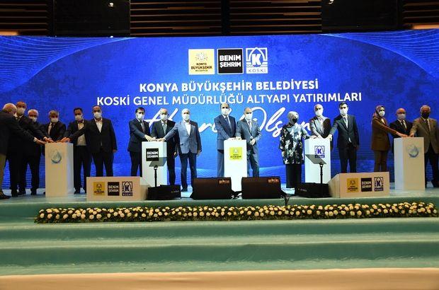 '507 milyonluk yatırımla Konya'nın altyapısını güçlendiriyoruz'