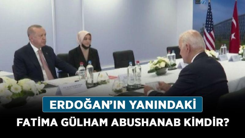 Erdoğan'ın yanındaki Fatima Gülham Abushanab kimdir? Fatima Gülham Abushanab nereli?