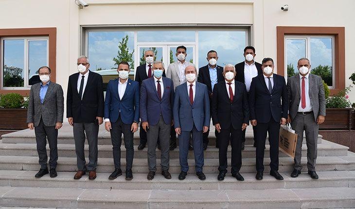Kıbrıs Türk Belediyeler Birliği'nden Selçuklu Belediyesi'ne ziyaret