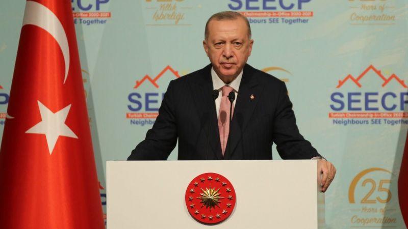 Cumhurbaşkanı Erdoğan: Çözüm için diyalogdan yanayız!