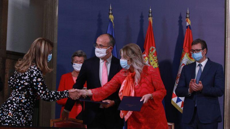 AB'den Sırbistan'a 2,5 milyon avroluk yardım