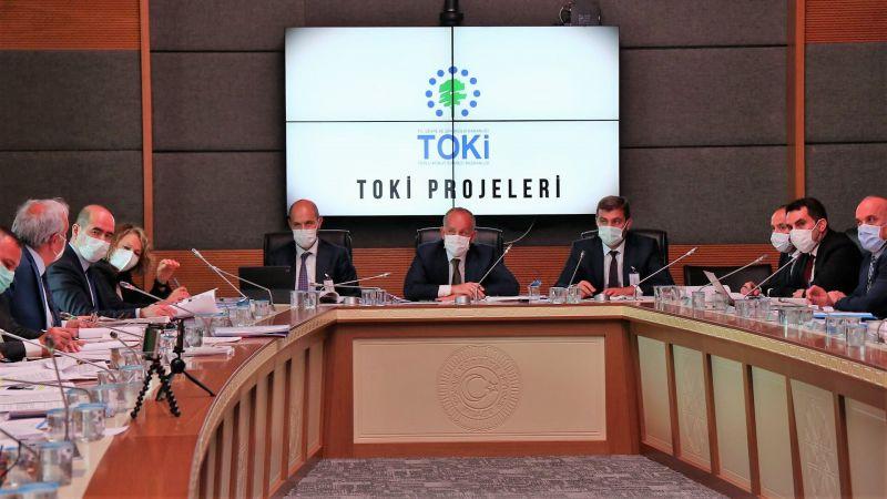 TBMM KİT Komisyonunda TOKİ'nin 2017-2018 yılları hesapları görüşüldü