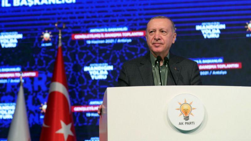 Erdoğan'dan İzmir'deki HDP binasına yönelik saldırıya kınama