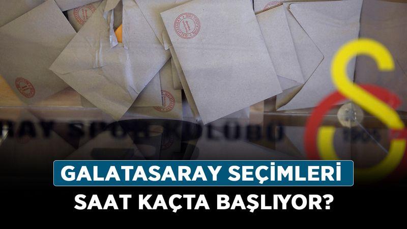 Galatasaray seçimleri saat kaçta başlıyor? Galatasaray başkanlık seçimleri hangi kanalda?
