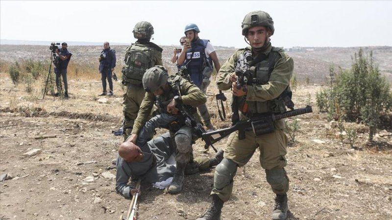 İşgalci İsrail'den Filistinli göstericilere müdahale: En az 353 yaralı