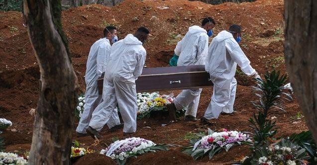 Brezilya'da Kovid-19 ölüm sayıları yarım milyonu aştı