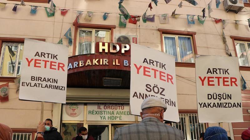 HDP'nin kapatılması istemiyle açılan davada ilk inceleme yarın yapılacak