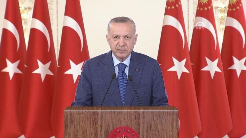 Cumhurbaşkanı Erdoğan: Batı'da ırkçılık koronavirüsten daha tehlikeli bir hal aldı