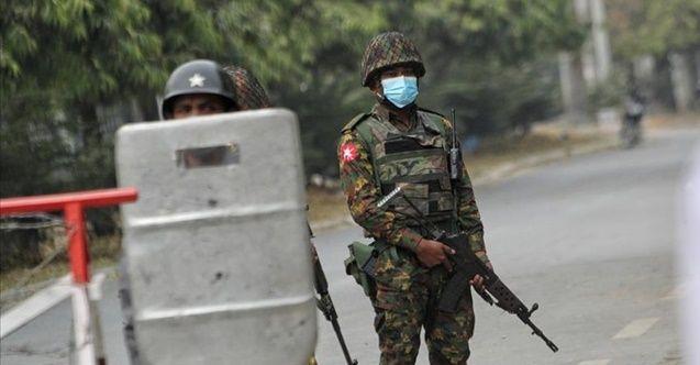 Myanmar'daki çatışmalarda 2 asker öldü