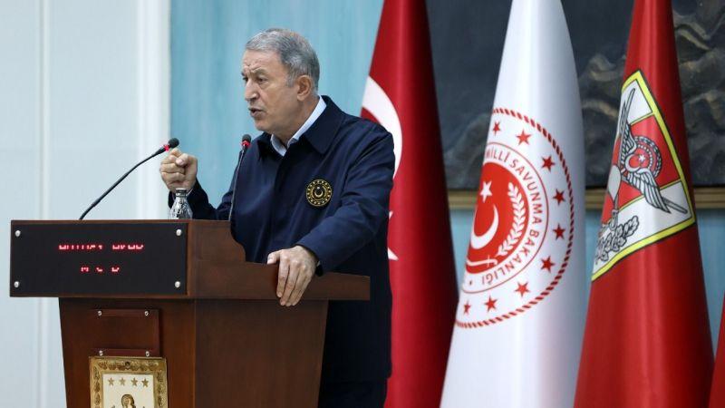 Milli Savunma Bakanı Hulusi Akar: PKK ile YPG aynıdır Müttefik desteği kabul edilemez