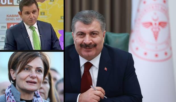 Bakan Koca'dan Kaftancıoğlu ve Portakal'a olay gönderme