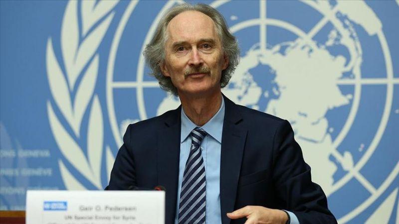 BM Suriye Özel Temsilcisi Pedersen, Suriye'ye sınır ötesi yardımların sürdürülmesini istedi