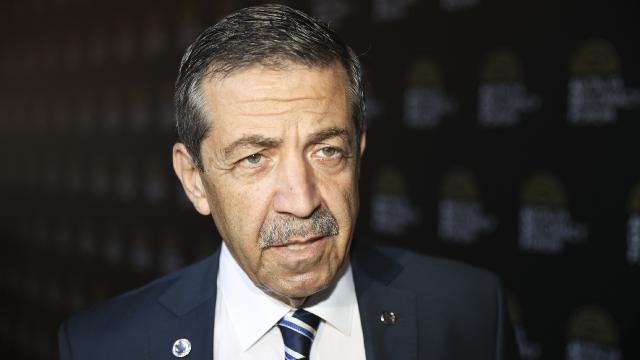 KKTC Dışişleri Bakanı Ertuğruloğlu: AB yetkilileri, Kıbrıs Türk halkının iradesini hiçe saymaktadır