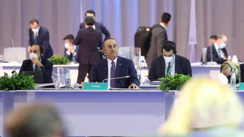 Dışişleri Bakanı Çavuşoğlu Roma'da Suriye konulu Bakanlar toplantısına katıldı
