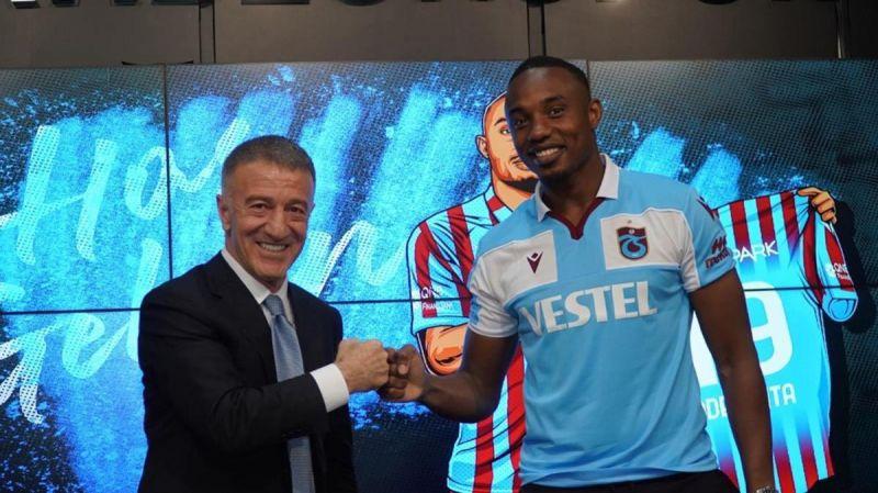 Gineli  Fode Koita Trabzonspor'a imzayı attı