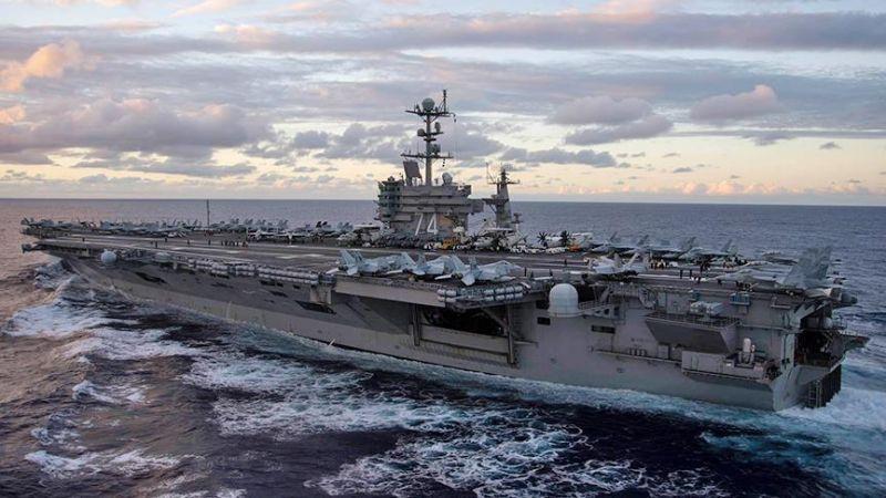 Rus ordusu, İngiliz uçak gemisinin de bulunduğu Akdeniz'de tatbikat yapıyor