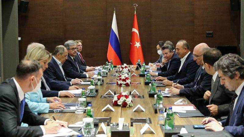Mevlüt Çavuşoğlu: Suriye'de Rusya'yla birlikte çalışmaya devam edeceğiz