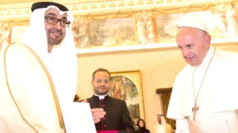 MbZ'ye Vatikan'dan 'İyilik Elçisi' nişanı