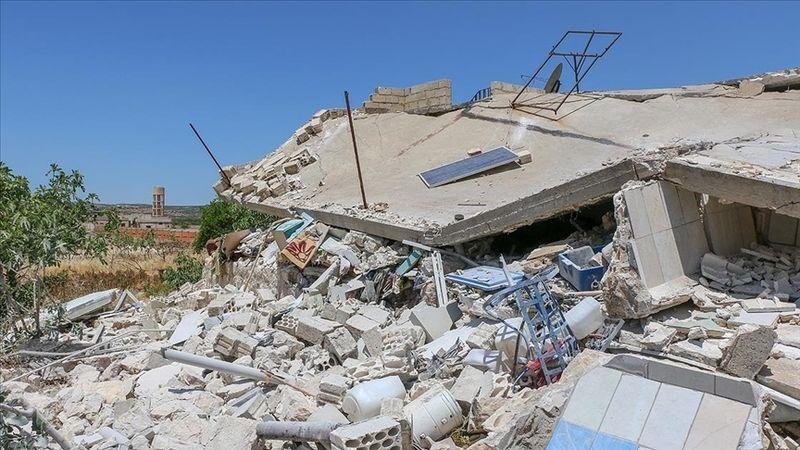 Esed rejiminin İdlib'e saldırısında 1 sivil hayatını kaybetti