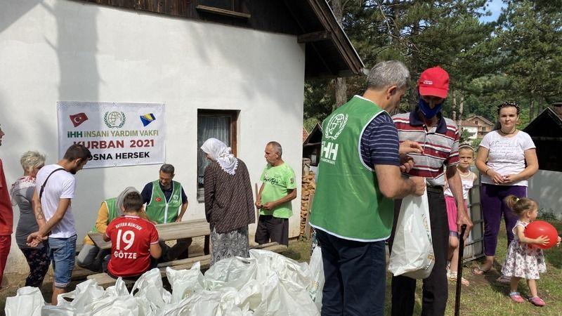 İnsani Yardım Vakfı, Bosna Hersek genelinde 7 bin kişiye kurban eti ulaştıracak
