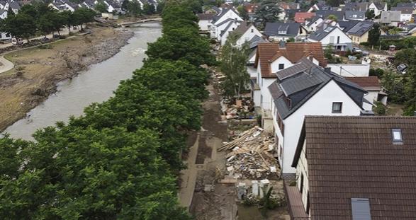 Almanya'da 400 milyon avro acil yardım yapılacak