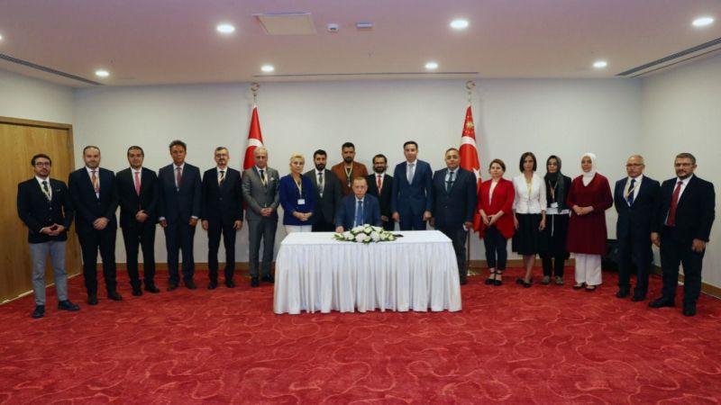 Cumhurbaşkanı Erdoğan: Barış için sadece Türk tarafı çaba gösteriyor