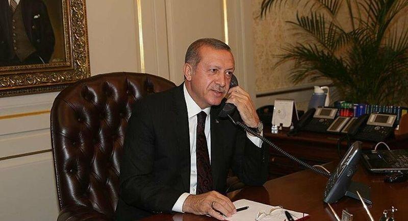 Cumhurbaşkanı Erdoğan'dan bayramda yoğun diplomasi trafiği! Ruhani ile görüştü
