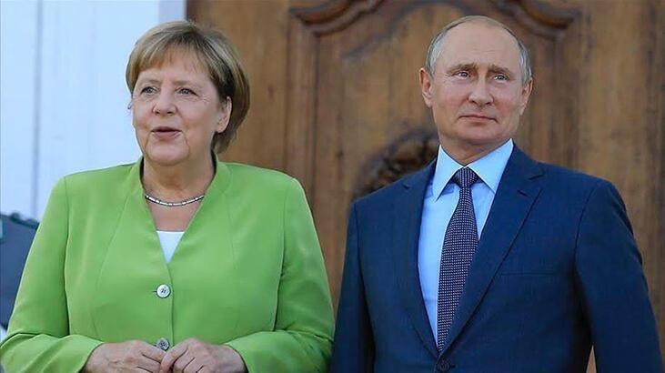 Merkel ile Putin arasında kritik 'Ukrayna' görüşmesi