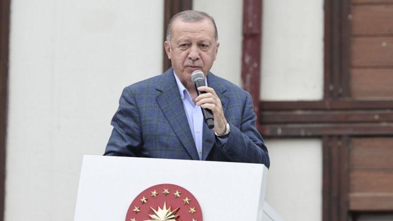 Cumhurbaşkanı Erdoğan: Rize'de selden etkilenenler için 550 konut inşa edeceğiz