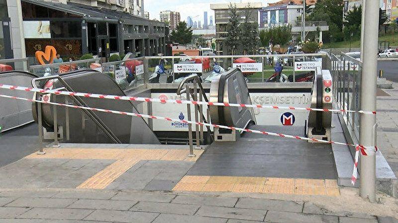 Mecidiyeköy-Mahmutbey Metro Hattı'nda korkutan patlama