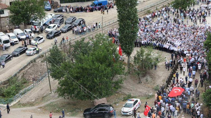 Şehit  Emrah Arslan memleketi Samsun'da son yolculuğuna uğurlandı