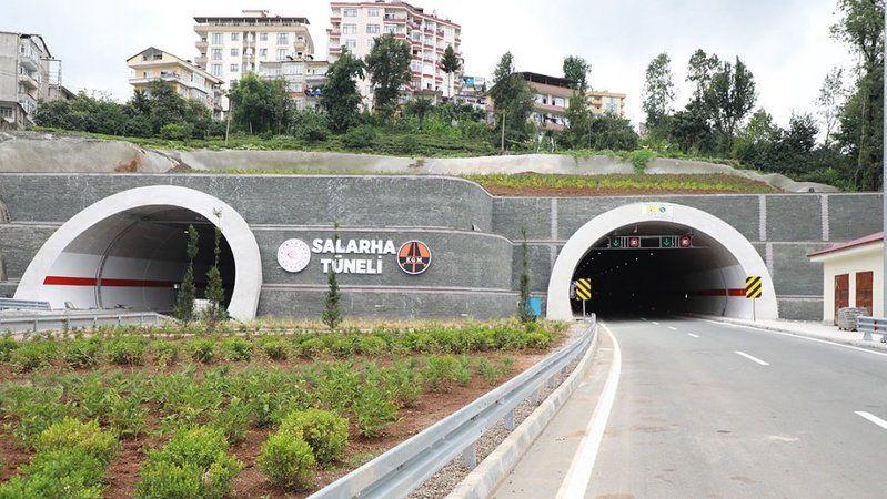 Rize'de bulunan İkizdere ve Salarha tünelleri açılıyor