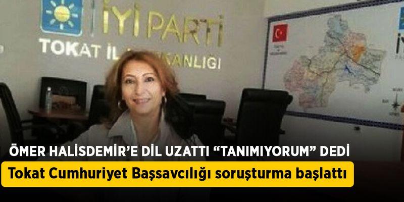 Ömer Halisdemir'e dil uzatan Songül Sarıtaş'a soruşturma açıldı