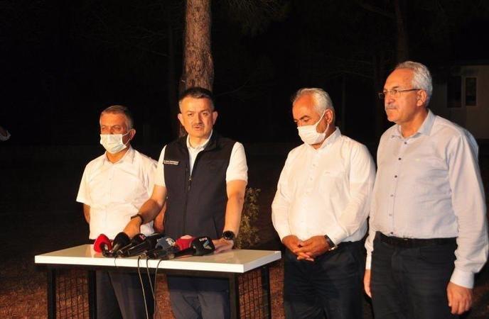 Bakan Pakdemirli'den Manavgat'taki orman yangınıyla ilgili yeni açıklama
